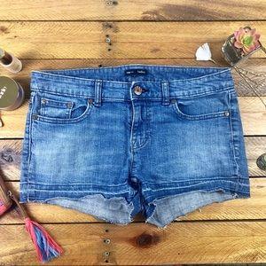 Gap Hadley Vintage Blue Released Hem Shorts